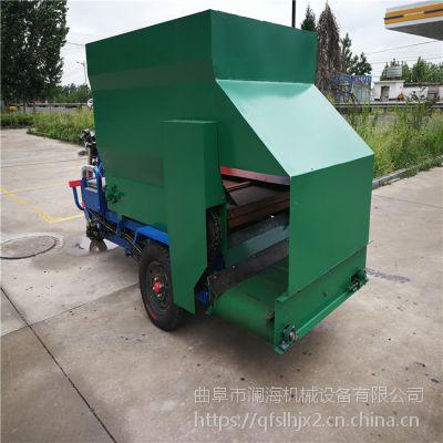 大黄牛饲料撒料车 根据要求定做大小撒料车厂家