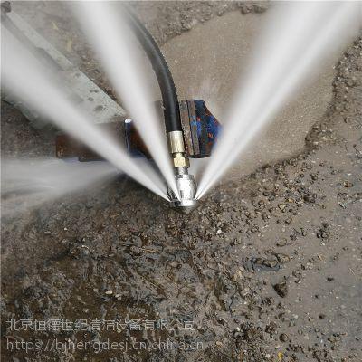 高压水疏通机清洗管道效果怎么样,疏通机可以多长下水管道