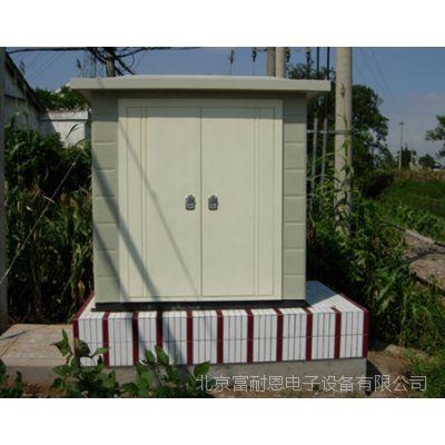 现货厂家直销19英寸室外机柜22U防水箱监控户外防雨箱60*60*120cm