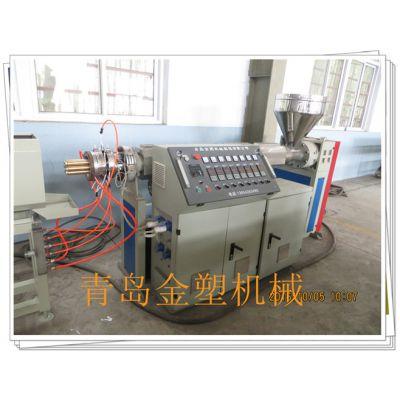 七孔梅花管设备 多孔梅花管生产线