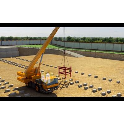 河南施工动画|郑州工业机械动画|三维动画制作|动画公司|河南建筑产品动画|领漫动画科技