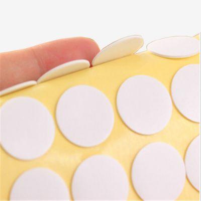 白色泡沫双面胶挂钩胶 PE泡棉双面胶LED灯固定1mm白色加工定制