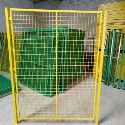 南京车间隔离网厂家 仓库隔离栅直销 浸塑边框防护网