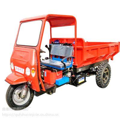 水田可使用的柴油自卸三轮车/建材公司拉料用工程三轮车/更具韧性的工程用三马子