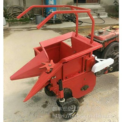 高效率手扶前置掰棒子机 秸秆还田 单垄苞米收割机