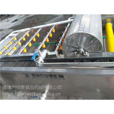 蔬菜异物去除清洗机(厂家) 佳美新型果蔬酱深加工流水线 ***短可做到3米清洗机