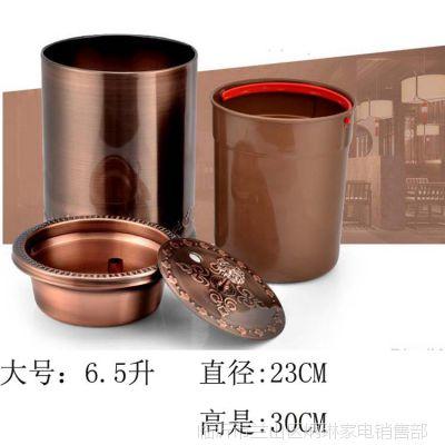 厂价直销不锈钢茶水桶茶渣桶排水桶茶功夫茶具配件接水废水桶