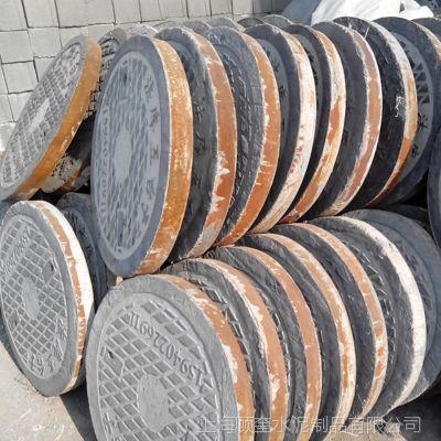 钢纤维井盖 水泥窨井 铁包边井盖13601659292