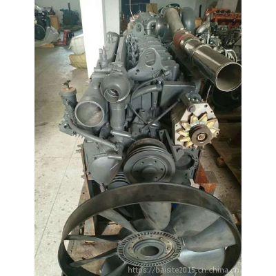 276kW潍柴WP10.375E41发动机 国四重卡375马力增压中冷柴油机