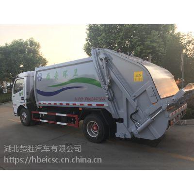 东风6方压缩式垃圾车,压缩比高,操作简单,经久耐用