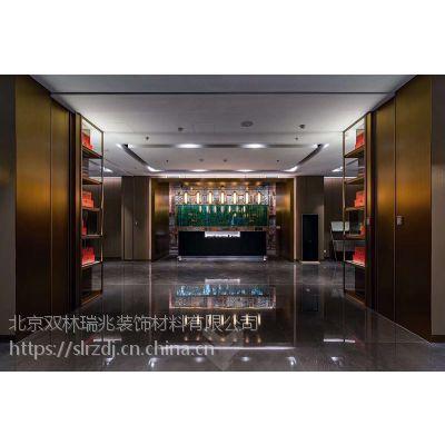 润林泉设计定制酒店大堂 餐厅玻璃装饰吊灯