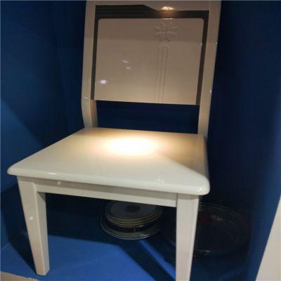 供应创意实木餐桌椅喷涂生产线 悬挂Ω型喷漆流水线 家具喷涂设备