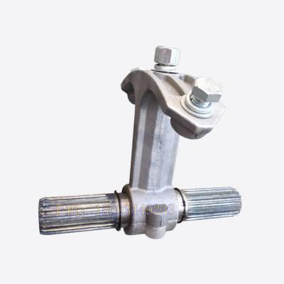 螺旋绞龙配件 323螺旋中吊轴 水泥输送泵灰泵吊挂轴承花键套