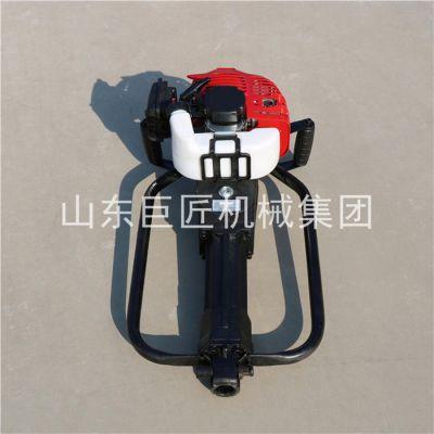 华夏巨匠供应能取原状土样的钻机QTZ-1轻便取土钻机不用水