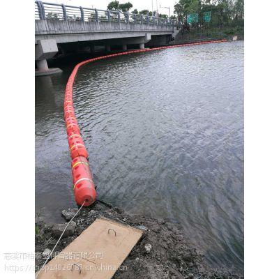 大桥前设置拦污装置水面拦截漂浮物厂家