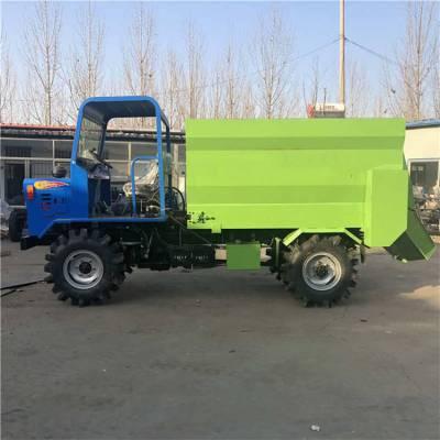 润丰供应饲料撒料车 符合料槽高度的饲料撒料车