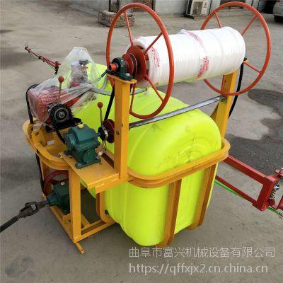 富兴汽油手推式高压果园喷药机 大棚园林消毒喷雾器 汽油防虫打药机