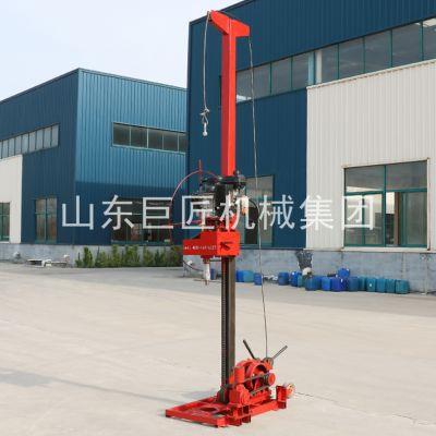 勘察院勘探巨匠QZ-3型轻便取芯钻机能做标贯操作简便柴油动力扭矩更强劲