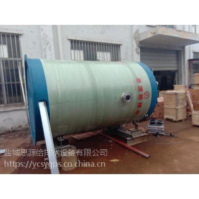 乌兰察布地埋式箱泵一体化消防水箱