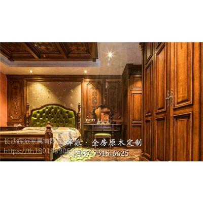 长沙原木定制家具原木酒柜、原木展示柜定制品牌效果