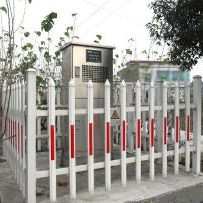 朋英 厂家直销 小区锌钢护栏 喷塑白色蓝色防护栏