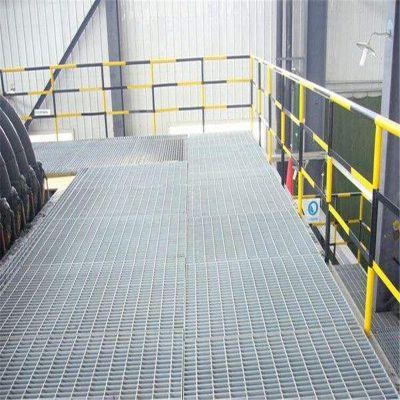 水厂排污盖板 镀锌网格板 雪花板盖板