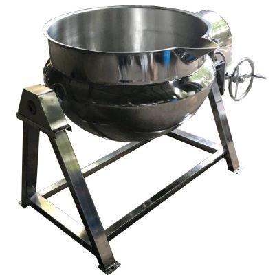 海参嘎达汤带搅拌夹层锅