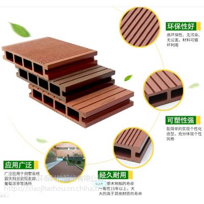 供应北京塑木地板陕西弘之木实心板防腐木塑地板PE塑木河北