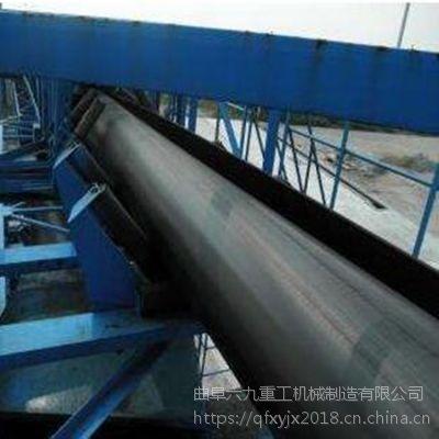 连云港圆管带式输送机 输送各种粉状物料多种型号