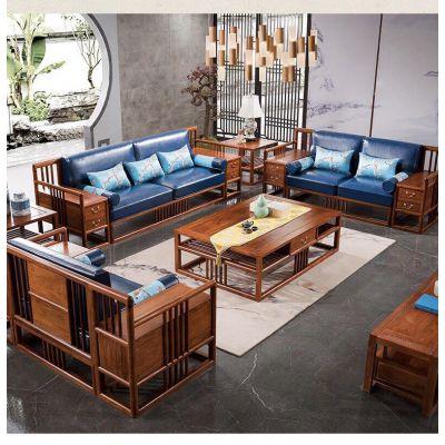 刺猬紫檀新中式红木家具***新价格名琢世家