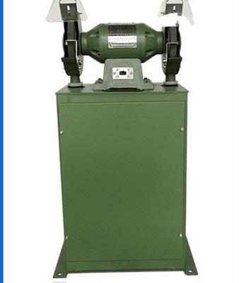 除尘式砂轮机直径200-400 环保无尘砂轮机 三相滤网吸尘砂轮机安源直销