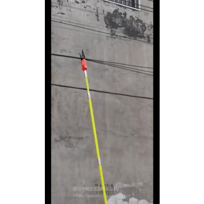 亚源全自动光缆扎线机 光缆附挂机挂缆机挂钩 电缆捆扎机捆绑机视频