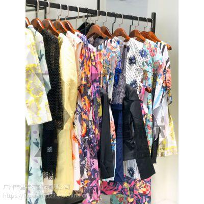 上海名品女装折扣店货源臣枫19纯麻连衣裙大码正品专柜渠道新款组货包