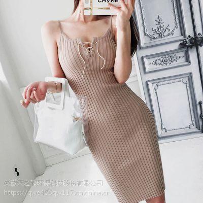 艺素国际想加盟女装品牌折扣店折扣 大量品牌女装尾货批发米色皮草