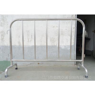全不锈钢铁马护栏 江门专业铁马厂家 益路铁马全国直销 价格便宜