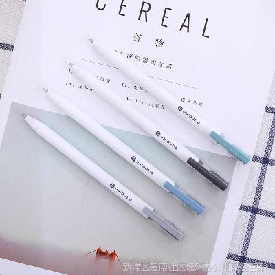 得力A025中性笔0.5mm签字笔 黑色 水笔 碳素笔 学生办公文具用品