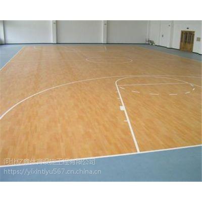 材质的选择决定了篮球场地板的运动性能的发挥