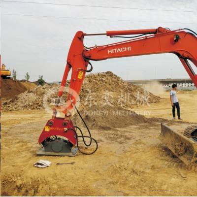 液压振动夯 挖掘机路面夯实器 东奕机械
