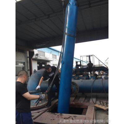 耐高温下吸式深井泵 底部进水式深井泵 下吸泵使用规范
