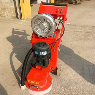 天德立350型环氧地坪打磨机 380V无尘水泥地面打磨机