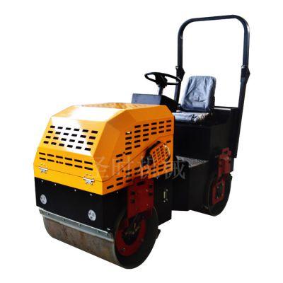 1-5吨小型座驾式压路机厂家 双钢轮驾驶式压路机 圣时1.5吨座驾式压路机
