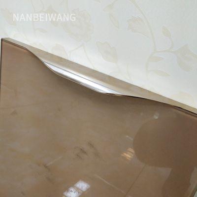 橱柜门铝合金铝材型材 灶台门板材料 石材柜体晶钢门