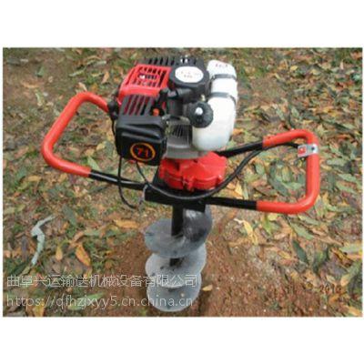 齐齐哈尔手持旋转挖坑机 多用植树打洞机操作方便安全