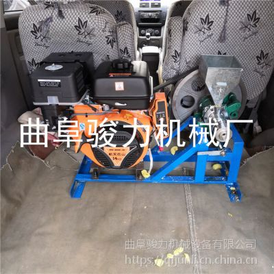 吉林火爆畅销 黄米型膨化机 骏力 小型粮食苞米花机 十用磨具膨化机