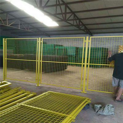 车间仓库钢丝网隔断 德兰现货工厂厂区浸塑隔离防护网