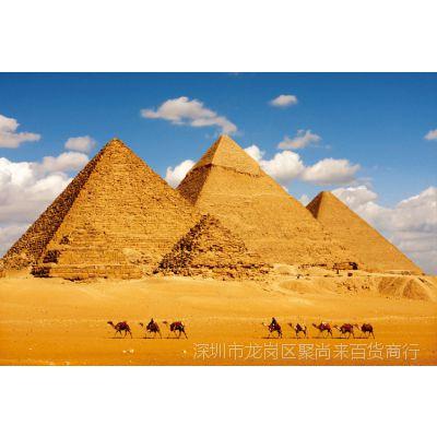 世界有名建筑埃及法老金字塔木质拼图1000片成人益智玩具进口材质