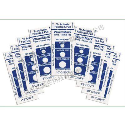 超温变色warmmark温度贴片原装进口温度标签