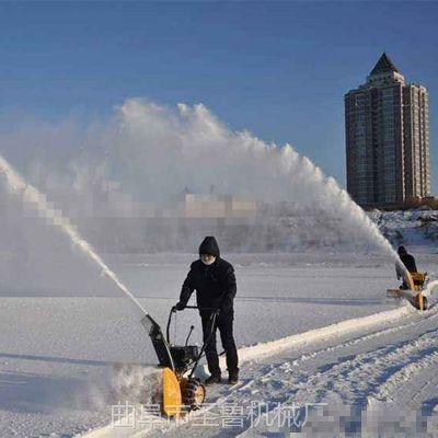 新款汽油自走式抛雪机 东北马路扫雪机 圣鲁机械