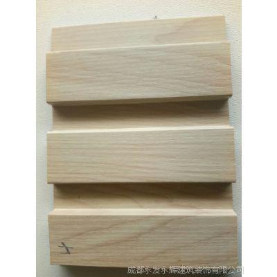 四川成都生态板    生态木   贴皮生态板   大长城生态