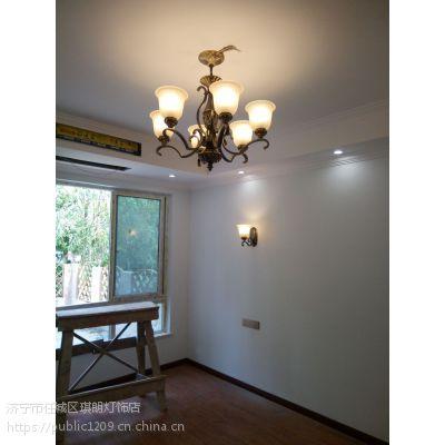 济宁吊灯的安装步骤和准备工具 济宁高端灯饰 济宁米兰名灯